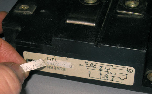 KS621240 / X170CB026 - Transistor (Powerex) - Used