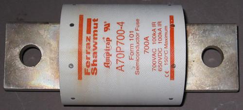 A70P700-4 - 700A 700VAC/650VDC Fuse (Ferraz Shawmut)