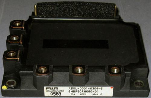 A50L-0001-0304#S (Fanuc) - Also: 6MBP50RH060-01 (Fuji) - IGBT-IPM - Used