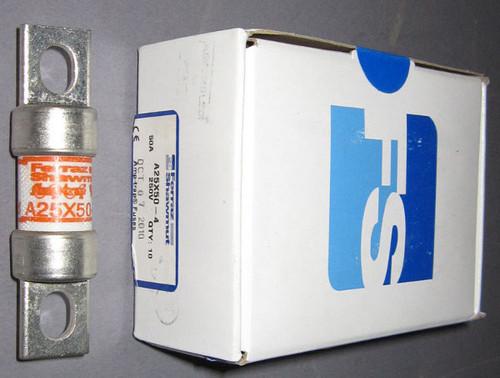 A25X50-4 - 50A 250VAC Fuse (Ferraz Shawmut / Mersen)