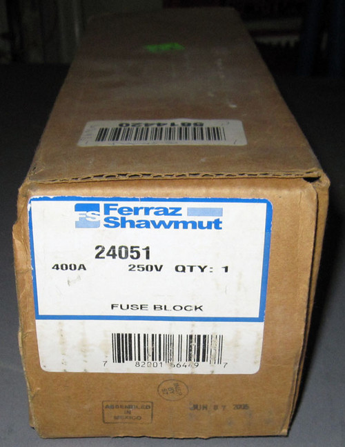 24051 - Fuse Block (Ferraz Shawmut)