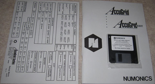 A56BL - Lightbox with Accugrid Digitizer Mouse (Numonics Corporation / Siemens)