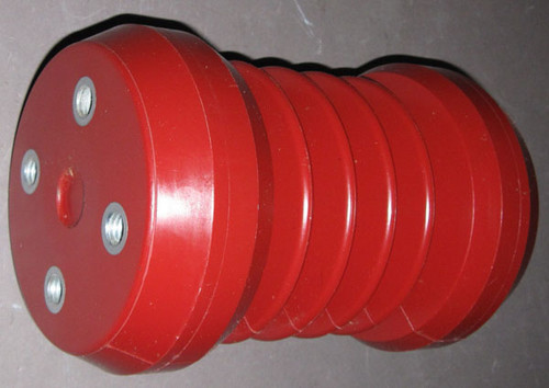 995-000002 / 105-318B-09 - 110kV BIL, 18kV High Voltage Insulator (Polycast Industrial Products)