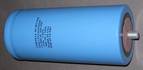 550C133T350FN2GP - 350VDC 13000uF Inverter Grade Electrolytic Capacitor (Cornell Dubilier)