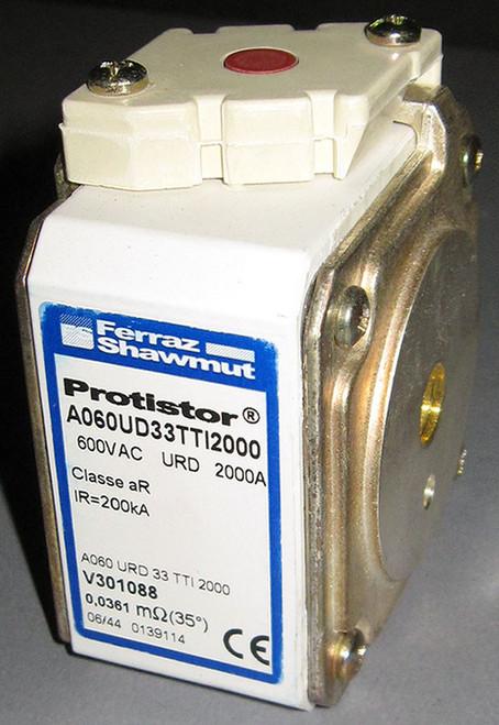 A060URD33TTI2000 / V301088 / A060UD33TTI2000 - 2000A 600VAC Fuse (Ferraz Shawmut)
