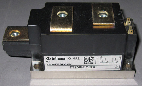 TT250N12KOF - Dual SCR /Thyristor (Infineon, formerly Eupec)