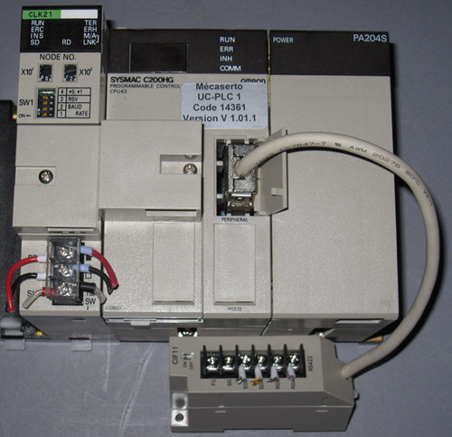 UC-PLC1 - Mecaserto PLC Assembly (Omron) - Used