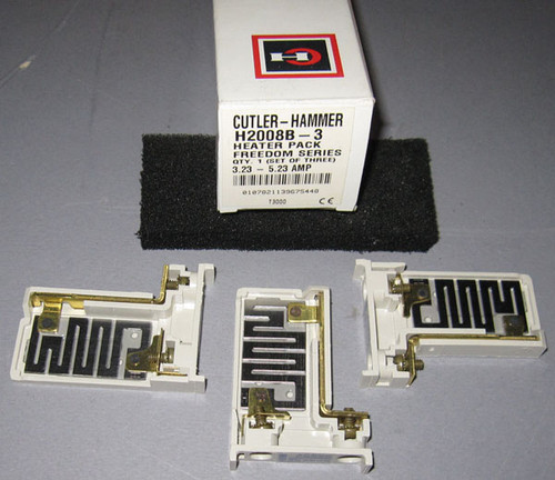 H2008B-3 - Heater Pack - Set of 3 (Cutler-Hammer)