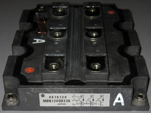 MBN1200D33A - 3300V 1200A High-Voltage IGBT (Hitachi) - Used