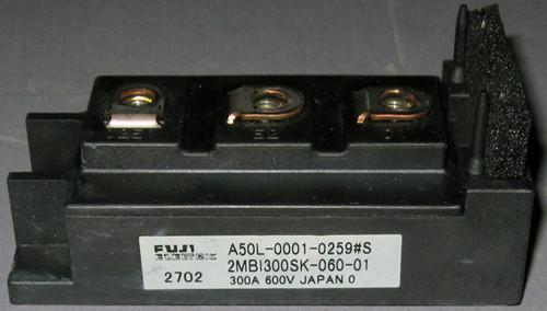 A50L-0001-0259#S IGBT (Fanuc) - Also: 2MBI300SK-060-01 (Fuji) - Used