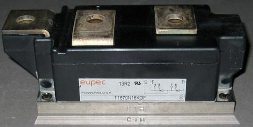 TT570N16KOF - 1600V 570A Dual SCR Module (Eupec - now Infineon)