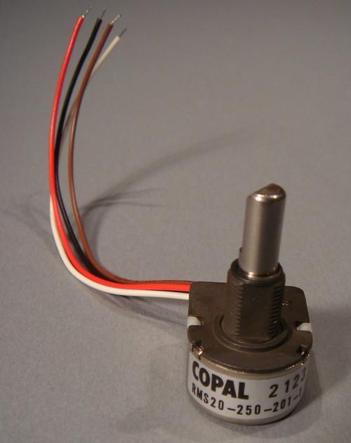 Magnetic Encoder, Copal part # RMS20-250-201-1