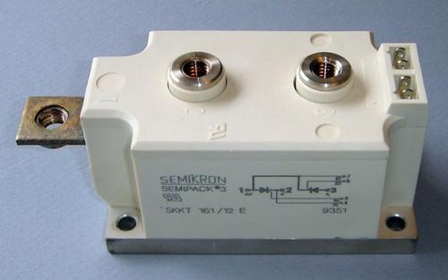 SKKT161/12E dual SCR / Thyristor module, Semikron