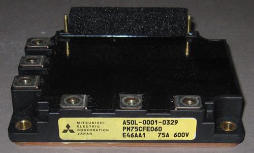 A50L-0001-0329 (Fanuc) / PM75CFE060 IPM Module (Mitsubishi) - Used
