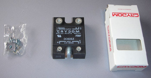 Solid State Relay, 60V 3A, Crydom DC60S3