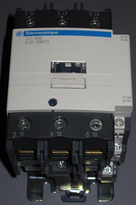 LC1-D95G7 / LC1-D9511 - 45kW Contactor (Telemecanique / Schneider)