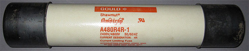 A480R4R-1 - Current Limiting Fuse (Gould Shawmut) - Used
