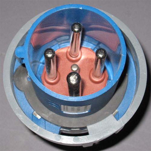 ME-460P9W - 1109 - 250VAC 60A 4W Receptacle (Mennekes) - Used