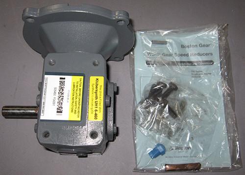 F713-5K-B5-J6 - Worm Gear Speed Reducer (Boston Gear)
