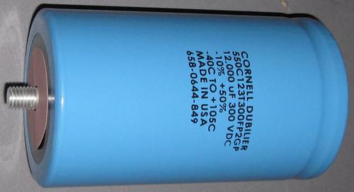 550C123T300FP2GP - 300VDC 12,000uF Inverter Grade Electrolytic Capacitor (Cornell Dubilier)