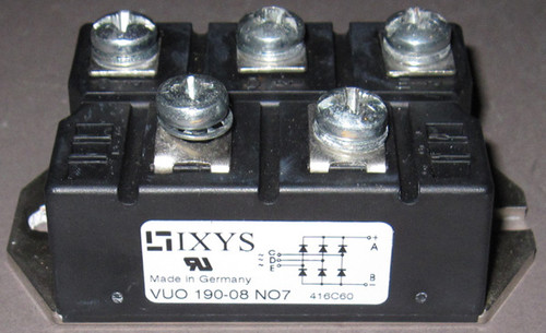 VUO190-08NO7 - Bridge Rectifier (IXYS) - Used