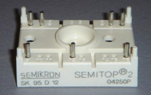 SK95D12 - 1200V 95A 3-phase bridge rectifier (Semikron)