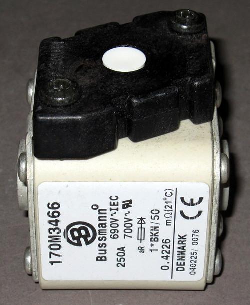 170M3466 - 250A 690/700V Fuse (Bussmann) - Used