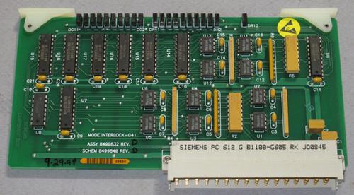 8499832 Rev D - G41 Mode Interlock (Siemens) - Used