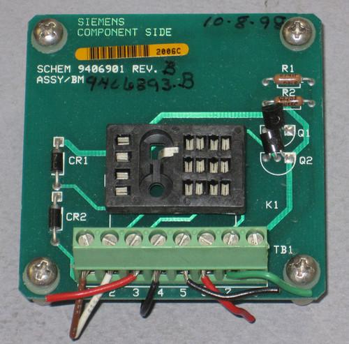 9406393 Rev B - Circuit Board (Siemens) - Used