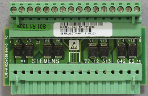 1P 7712313 - Circuit Board (Siemens) - Used