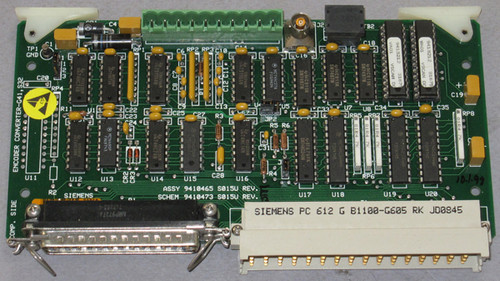 9410465 S015U Rev E - G41, S32 Encoder Converter (Siemens) - Used