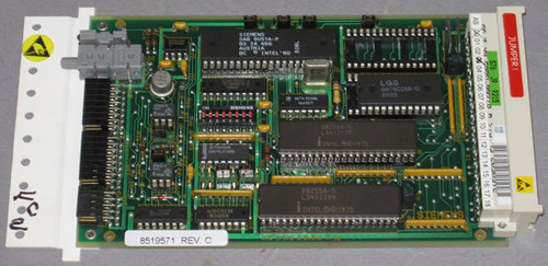 8519571 Rev C - PCB Assembly Microcontroller (Siemens) - See Description