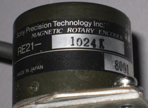 6DG150F - Servomotor Assembly (Japan Servo) - unit 1 - Used