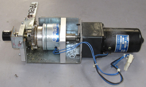 6DG150F - Servomotor Assembly (Japan Servo) - unit 2 - Used