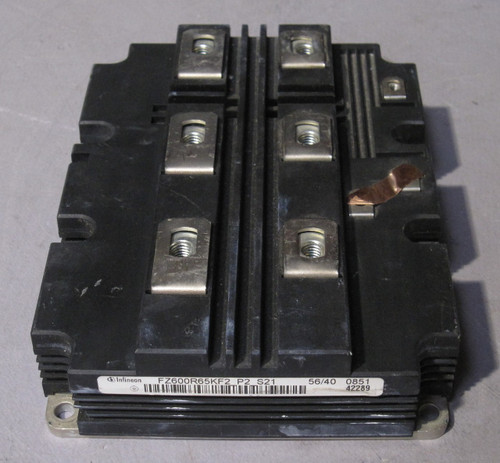 FZ600R65KF2_P2_S21 - 6500V 600A High-Voltage IGBT (Infineon) - Used