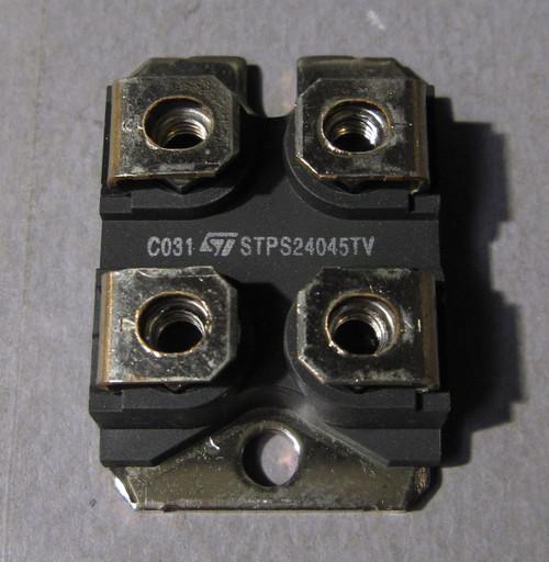 STPS24045TV - 45V 120A Dual Power Schottky Rectifier / Diode (STMicroelectronics)