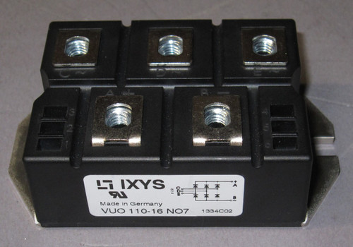 VUO110-16NO7 - 1600V 127A 3-Phase Bridge Rectifier (IXYS)