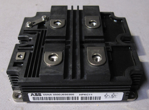 5SNA0500J650300 - 6500V 500A High-Voltage IGBT (ABB)