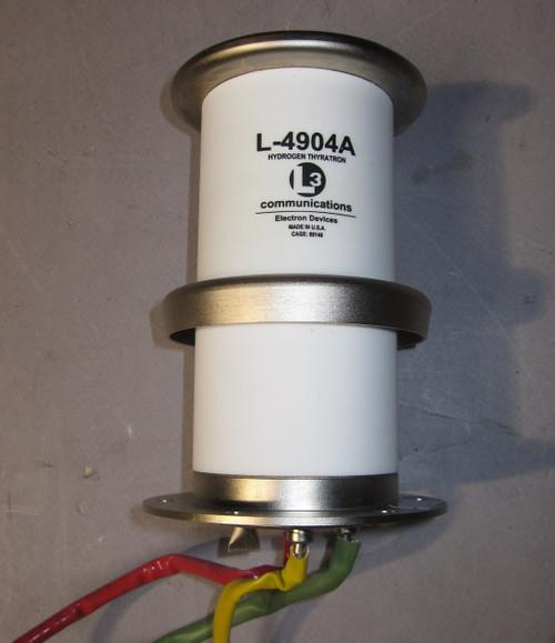 L-4904A - Thyratron, 36kV peak, 2000A peak, 2A average (L3 Communications) - Used
