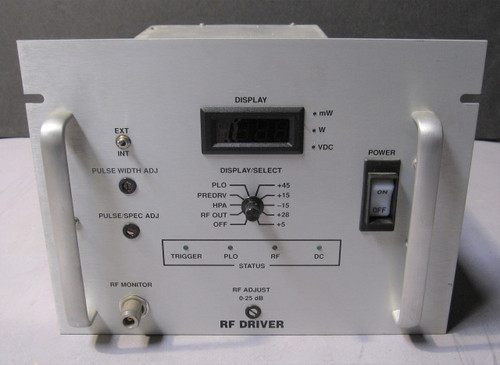 1964878 Rev H (Comtech PST 31196/15M00107-01) - RF Driver (Siemens) - Used