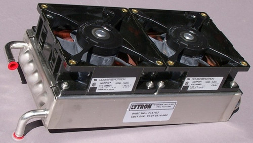 4121 G3 - Lytron Stainless Steel / Copper Fin Heat Exchanger with 115VAC Fans