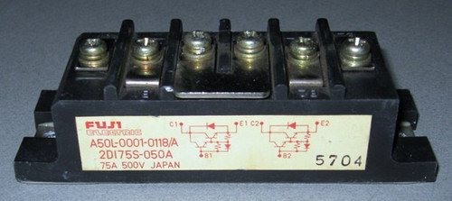 A50L-0001-0118/A (Fanuc) - Also: 2DI75S-050A (Fuji) - Transistor - Used