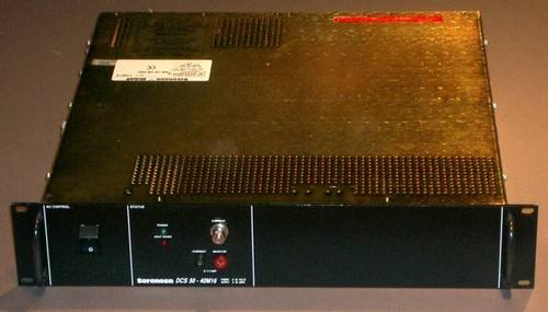 DCS50-40M16 - 50V 38A programmable power supply (Sorensen) - Used