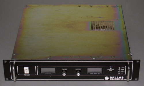 P62B-8250BF programmable DC power supply (Power Ten), 8V 250A - Used