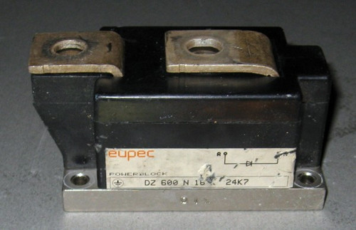 DZ600N16K - Diode, 1600V 600A (average) 1150ARMS (Eupec) - Used
