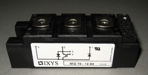 MID75-12A3 - IGBT / diode, 1200V (IXYS)