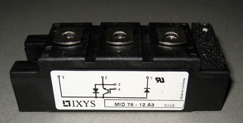 MID75-12A3 - IGBT / diode, 1200V (IXYS)