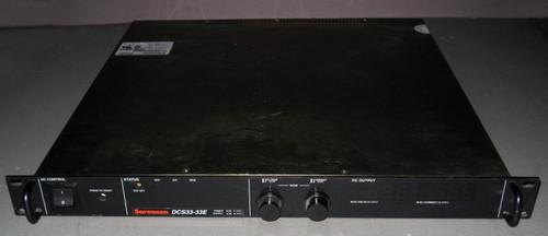DCS33-33E M15 - 33V 33A, 1kW programmable power supply (Sorensen) - Used