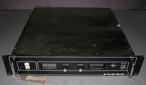 P62C-30010 - 300VDC 10A Programmable Power supply (Power Ten) - Used