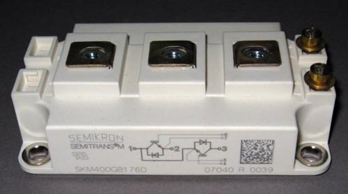 SKM400GB176D - 1700V 400A dual IGBT (Semikron)